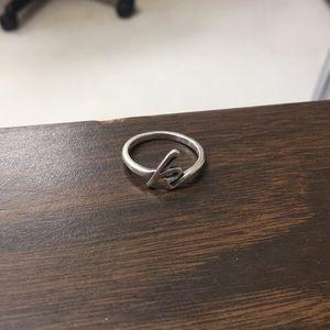 James Avery K Ring
